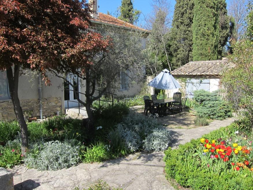Centre de Congénies, house and garden